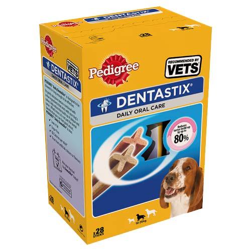 Pedigree Dentastix for Medium Dogs 28 pack