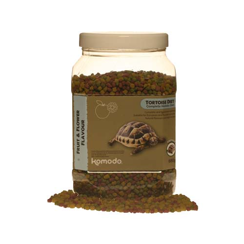 Komodo Fruit and Flower Tortoise Diet 680g