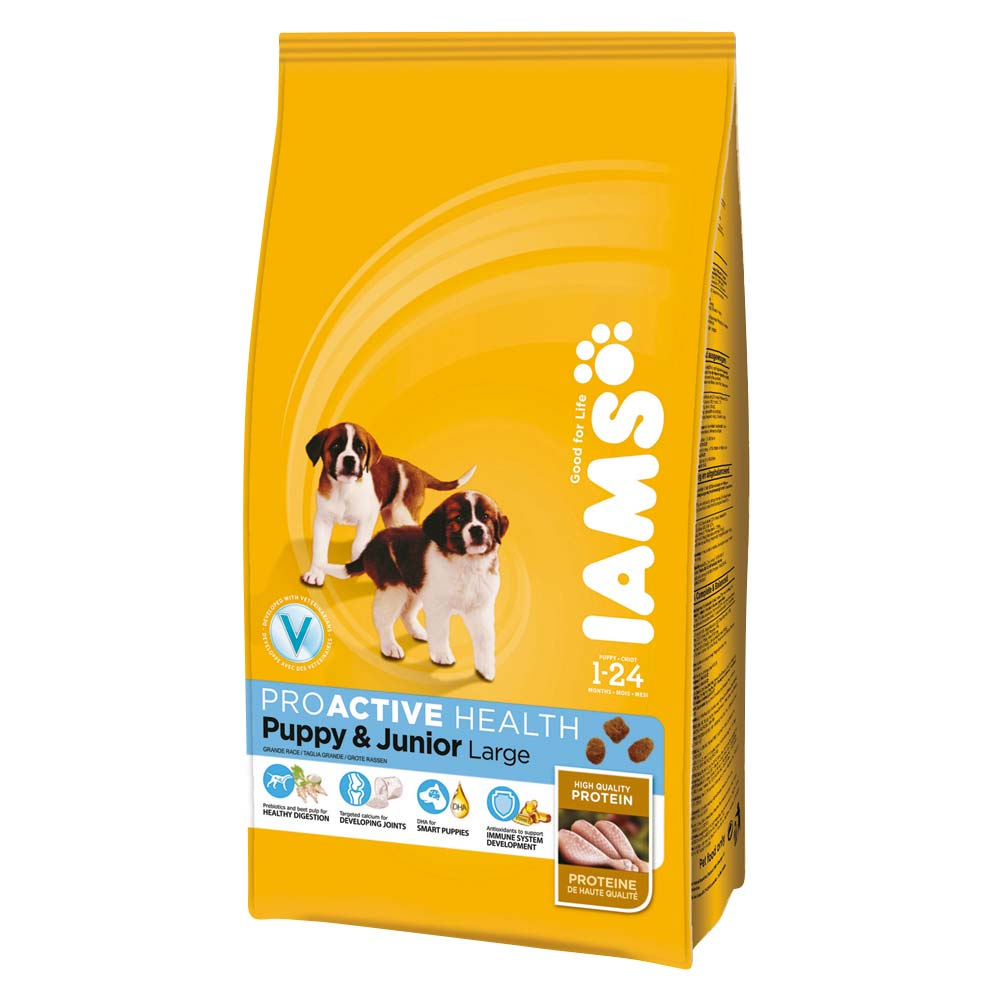 Iams Puppy Dry Dog Food Large Chicken 12kg