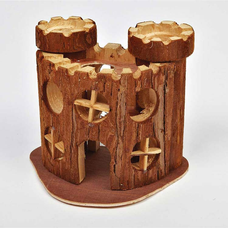 Pipkins Natural Wooden Castle