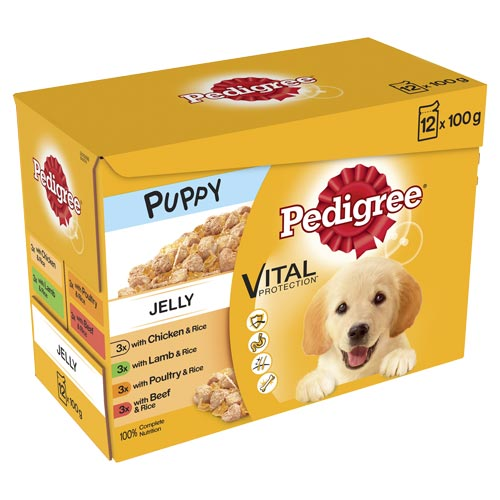 Pedigree Pouch Puppy in Jelly 12x100g