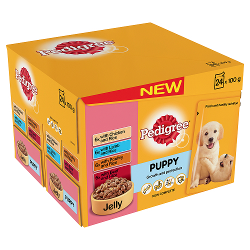 Pedigree Pouch Puppy in Jelly 24 x 100g
